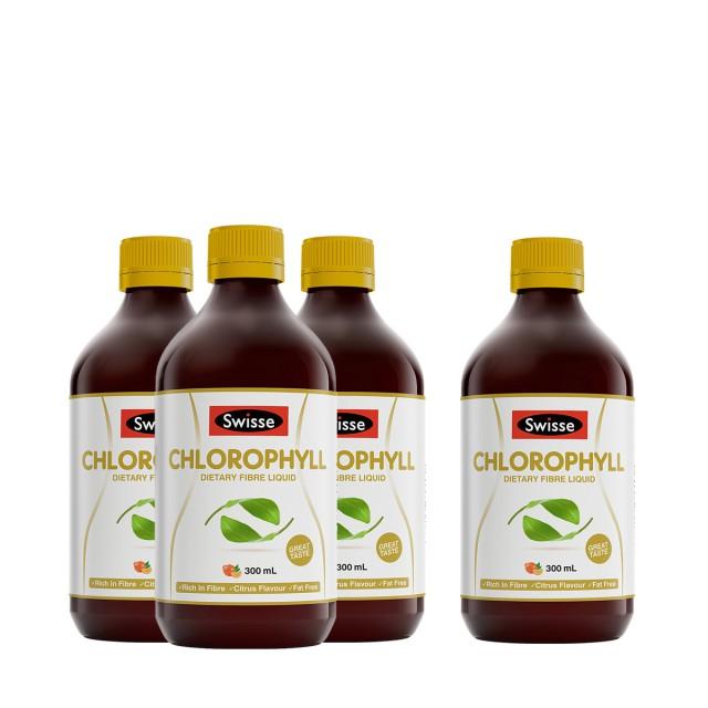 Swisse芊盈膳食纤维橙味饮料买三送一惠选套装