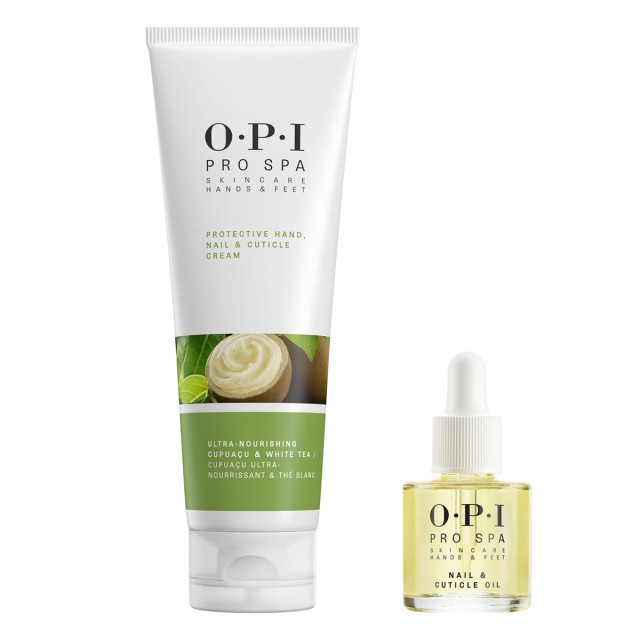 OPI可可白茶滋润护手乳50ML惠选套装