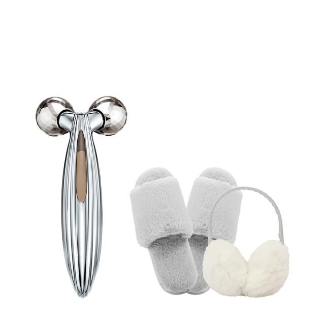 黎珐 双球滚轮波光美颜美容仪惠选套装
