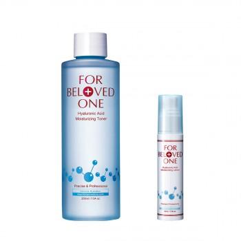 宠爱之名玻尿酸保湿修护化妆水 200ml惠选套装