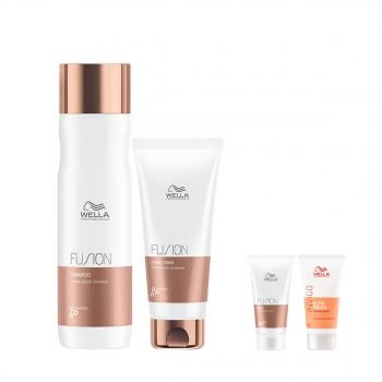 威娜氨基酸双重强化洗发护发惠选套组