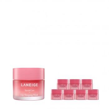 兰芝夜间保湿修护唇膜(莓果味)惠选套组
